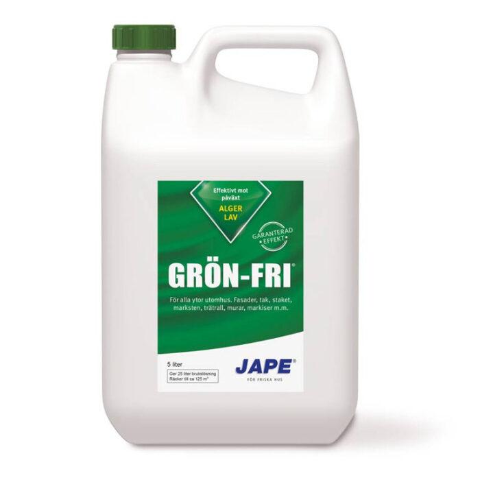 Jape grön fri 5L