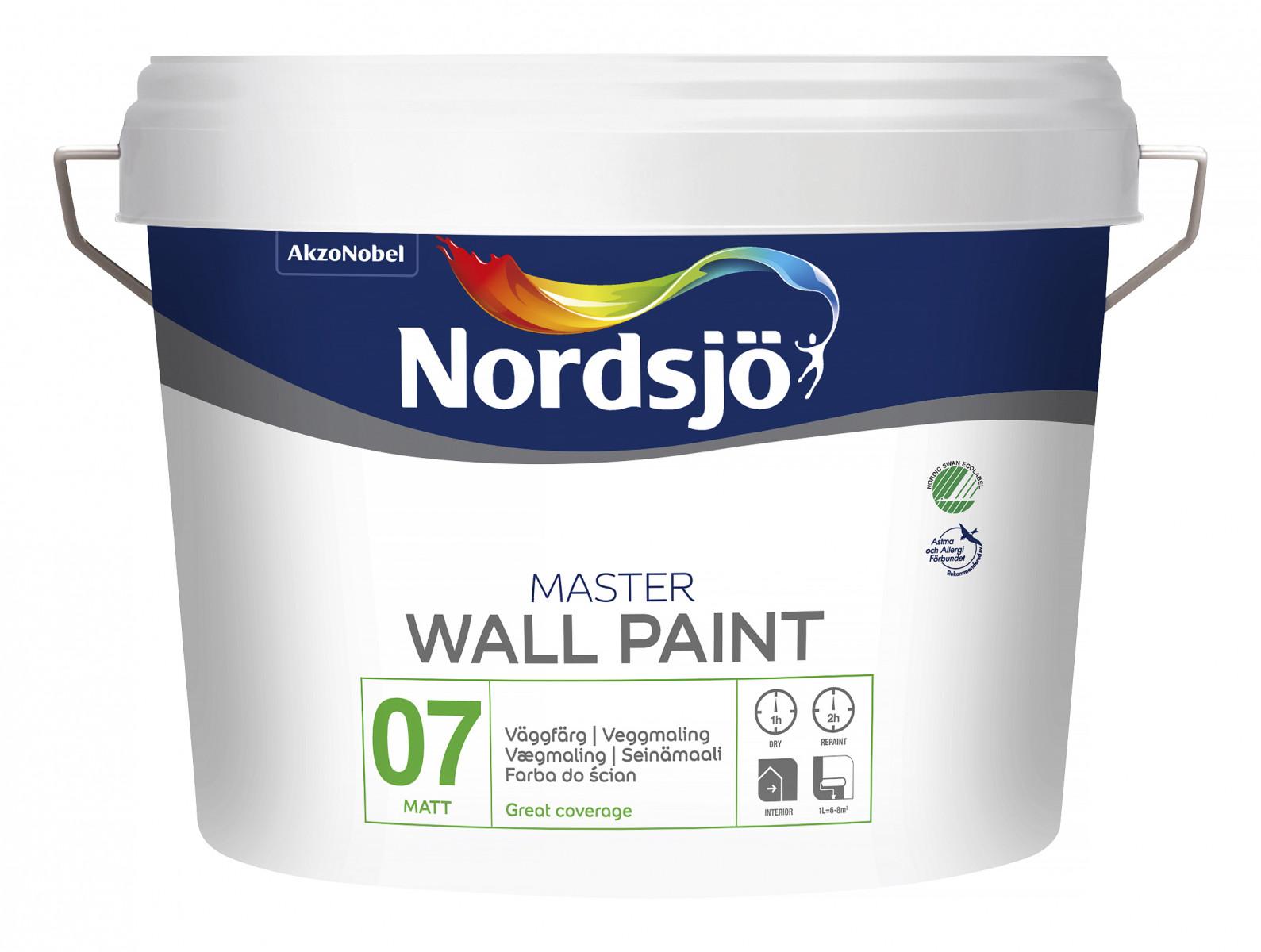 Nordsjö master 10L färg